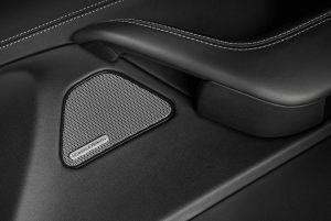 Image of Bowers & Wilkins speaker in Maserati Levante